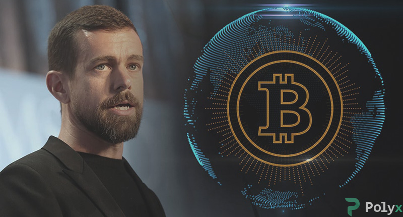 Dorsey supports Bitcoin in words