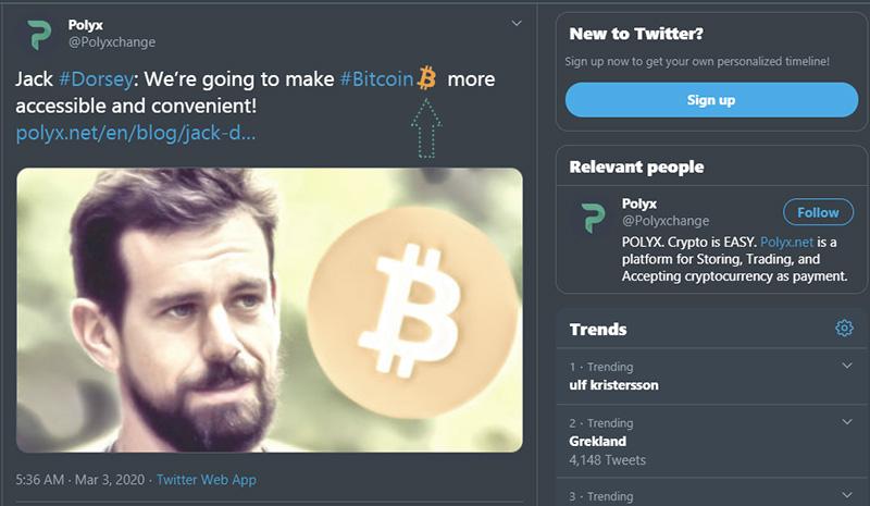 Bitcoin emoji on Twitter
