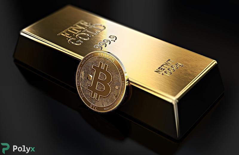Сравнение Биткоина и золота