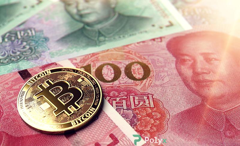 биткоин против юаня