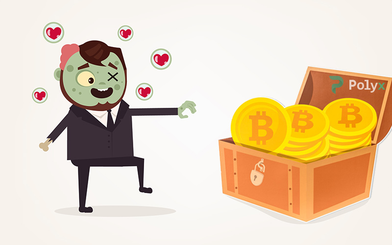 What are zombie bitcoins?